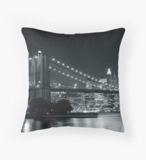 Down Town - New York City Throw Pillow