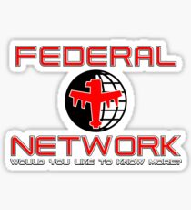 Federal Network - Would you like to know more? Sticker