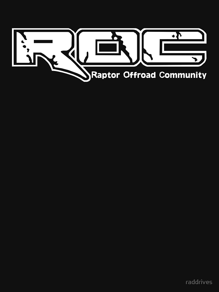 ROC Classic Logo in White by raddrives