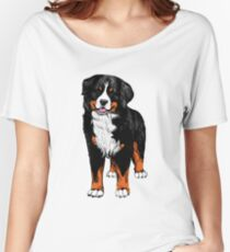 Berner Sennenhund  color sketch Women's Relaxed Fit T-Shirt