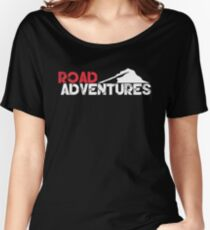Road Adventures Limited Mountain Logo Women's Relaxed Fit T-Shirt