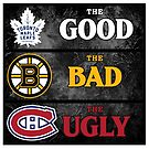 The Good, The Bad, The Ugly -- NHL Version by Daniel Lucas