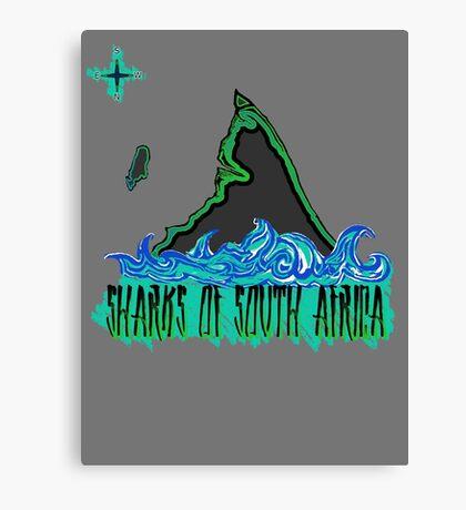 The Coast of Sharks Canvas Print