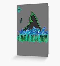 The Coast of Sharks Greeting Card
