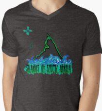 The Coast of Sharks Men's V-Neck T-Shirt
