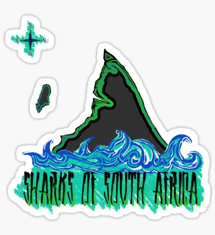 The Coast of Sharks Sticker
