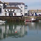Harbourside Pub, Falmouth by lezvee