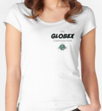 Globex Corporation Women's Fitted Scoop T-Shirt