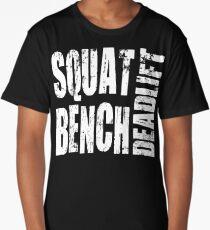Squat, Bench, Deadlift Long T-Shirt