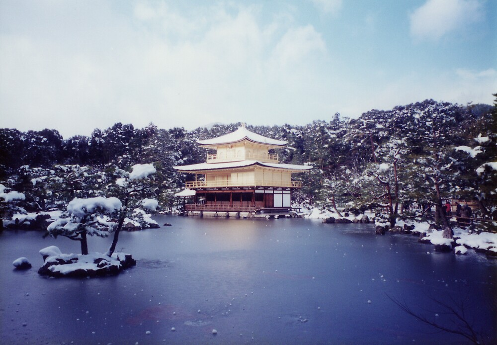 Golden Pavilion Series - Surreal by Chris Mehl
