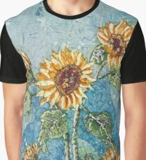A Summer of Sunflowers  Graphic T-Shirt