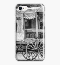 Horse Drawn Ambulance  iPhone Case/Skin