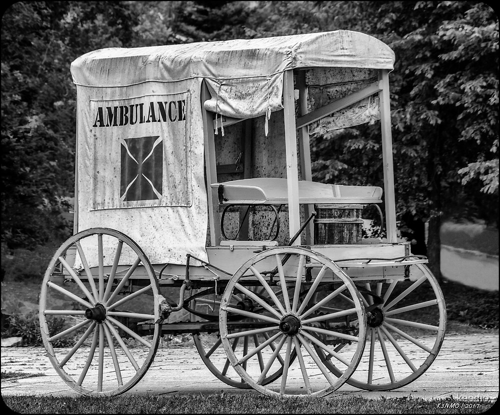 Horse Drawn Ambulance  by kenmo