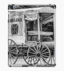 Horse Drawn Ambulance  iPad Case/Skin