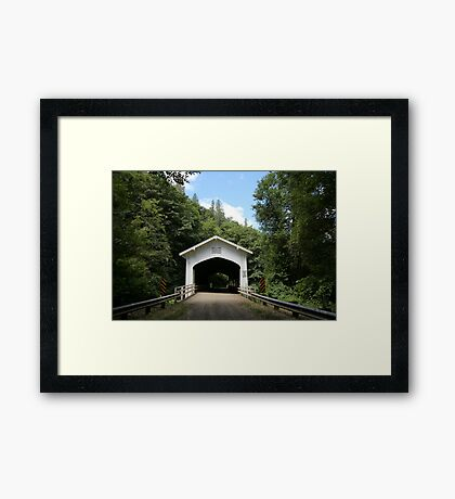 Deadwood Bridge Framed Print