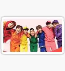 Bts Rainbow Sticker