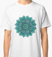 Blue mandala Classic T-Shirt