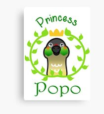 Princess Popo Canvas Print