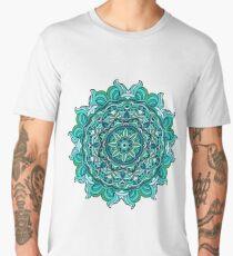 Blue mandala Men's Premium T-Shirt