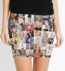 Becca Tobin Collage - Many Items Available Mini Skirt