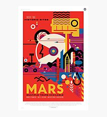 Visit the Historic Sites of Mars Photographic Print