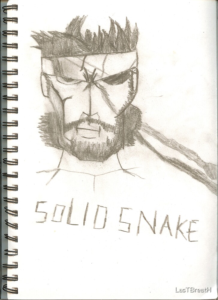 Solid snake from MGS by LasTBreatH