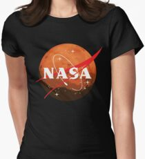 NASA Journey to Mars Fitted T-Shirt