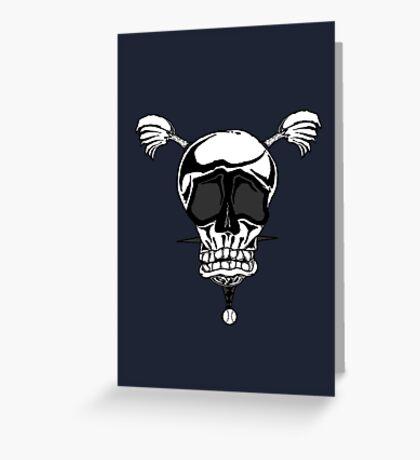 Baseball Skulls inc. Logo Greeting Card