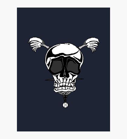 Baseball Skulls inc. Logo Photographic Print