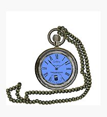 Gallifrey pocket watch  Photographic Print