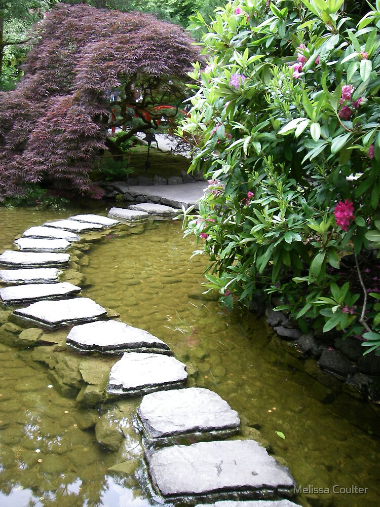 Buchart Gardens Japanese by Melissa Coulter