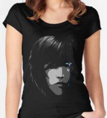 Blue Eye Dreamer Women's Fitted Scoop T-Shirt