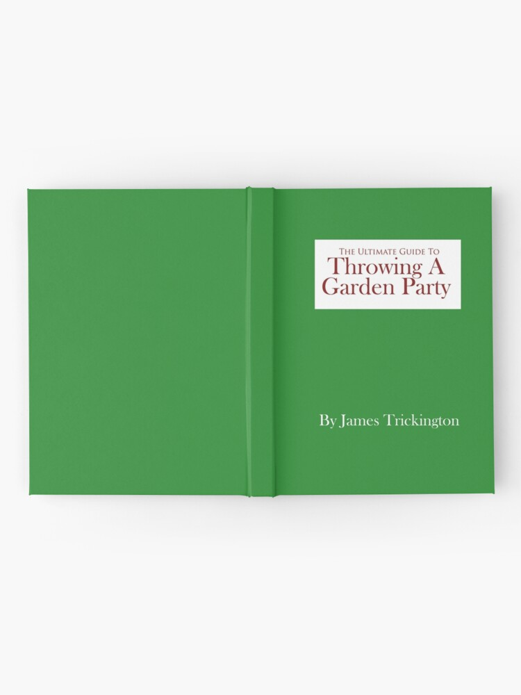 Alternate view of Throwing a Garden Party Hardcover Journal