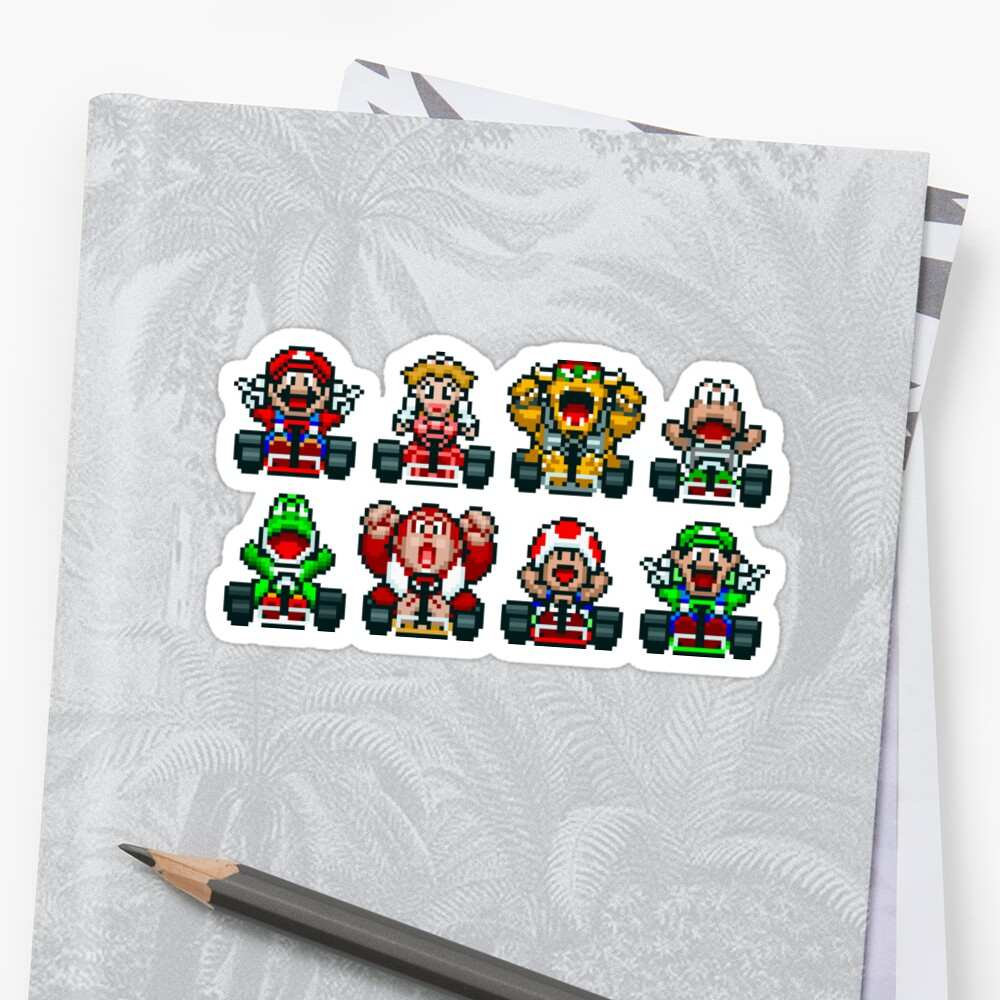 Super Mario Kart  Sticker