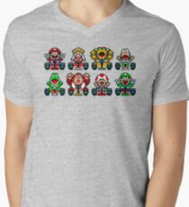 Super Mario Kart  Men's V-Neck T-Shirt