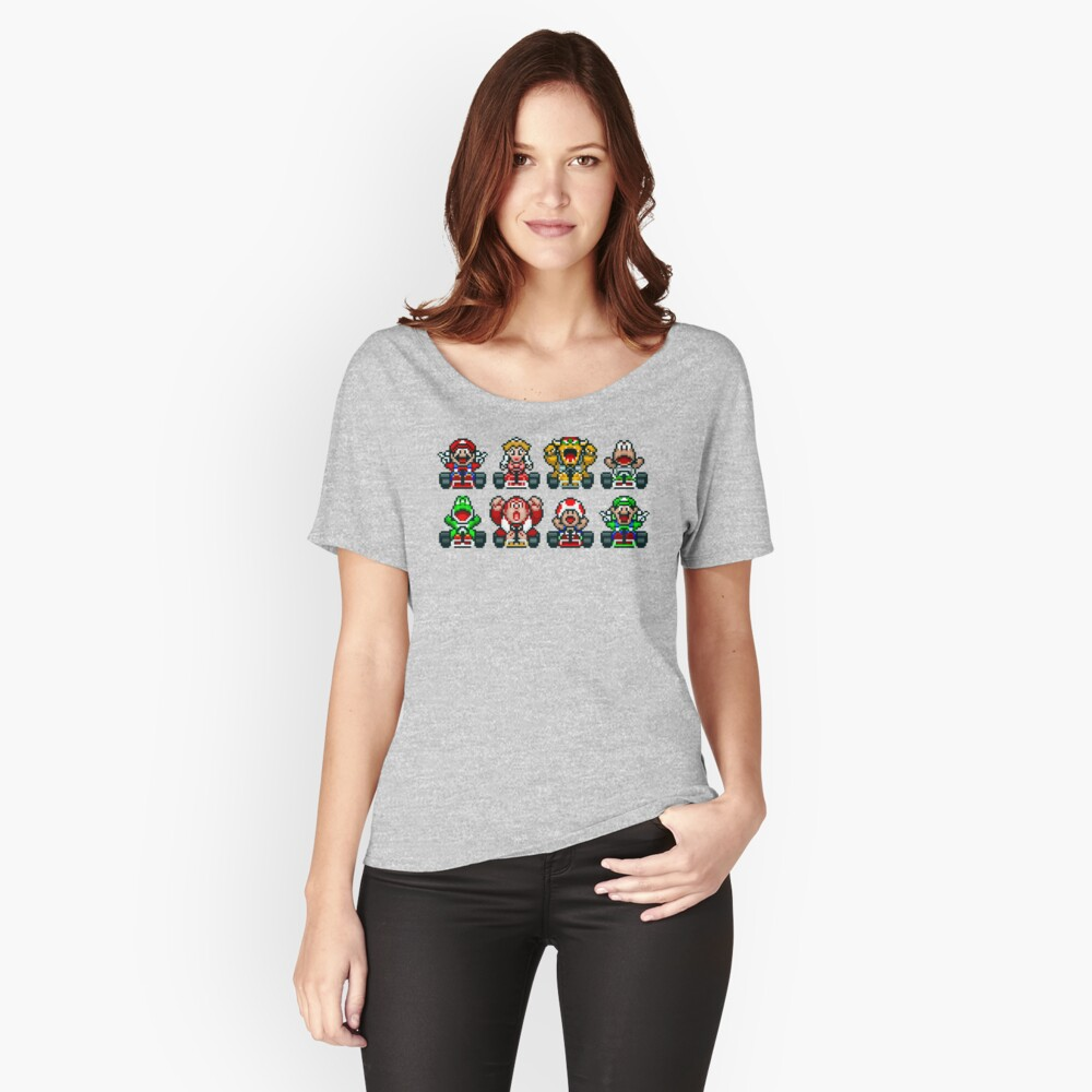 Super Mario Kart  Relaxed Fit T-Shirt
