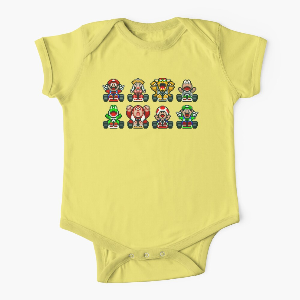 Super Mario Kart  Baby One-Piece