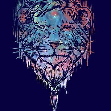 Fancy lion beard by eZkun