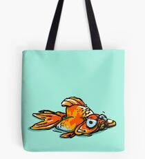 Mopey Goldy  Tote Bag