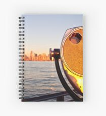 Manhattan from Ellis Island Spiral Notebook