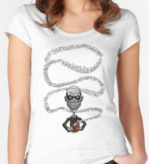 The Gentlemen Floating Voices Women's Fitted Scoop T-Shirt