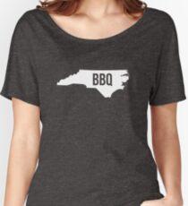 North Carolina BBQ Print Women's Relaxed Fit T-Shirt