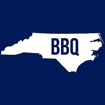 North Carolina BBQ Print by SouthCherry