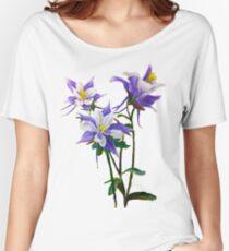 Columbines Women's Relaxed Fit T-Shirt