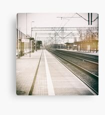 street photo STATION #photo #streetphoto Canvas Print