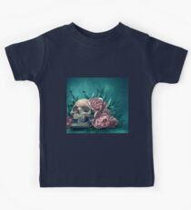 Skull and Peonies Kids Clothes