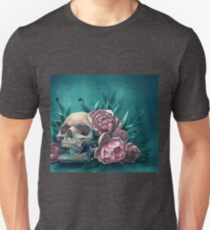 Skull and Peonies T-Shirt