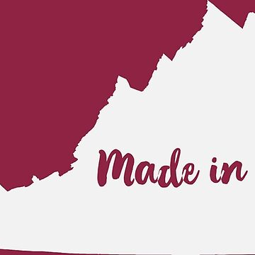 Made in Virginia- VA State Print by SouthCherry