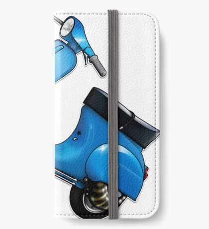 Scooter T-shirts Art: Small Frame Hot Rod scooter  iPhone Wallet