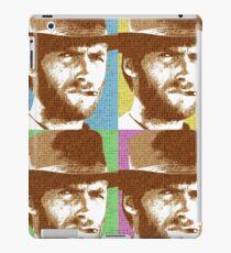 Scrabble Clint Eastwood x 4 iPad Case/Skin